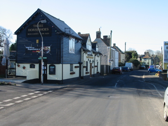 Three Horseshoes pub, Mongeham