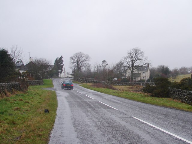 Wet Road to Laurieston