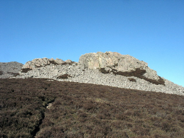 Caergribin rocks