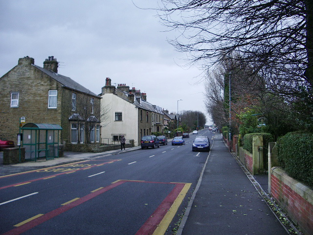 Whalley Road near The Crown, Accrington