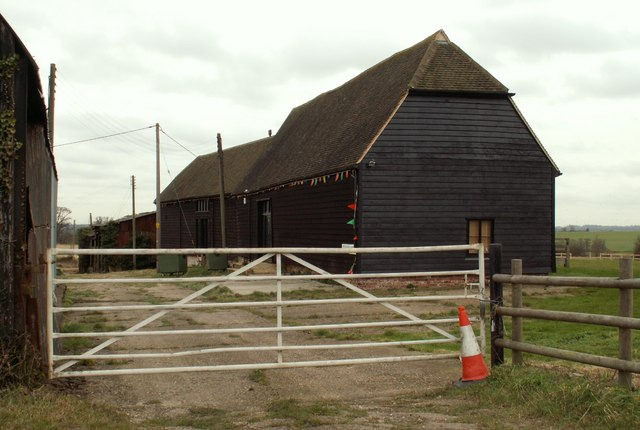 A barn conversion at Burrows Farm