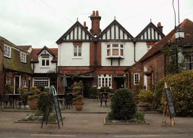 The 'Green Man' public house
