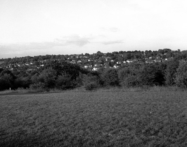 View towards Old Coulsdon