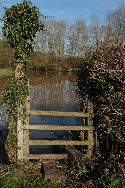Footpath flooded, please advise...