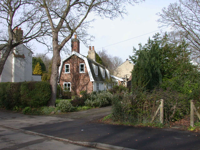 Cottages off the High Street