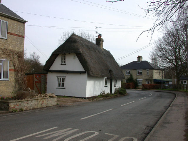 Thatched cottage in Coton