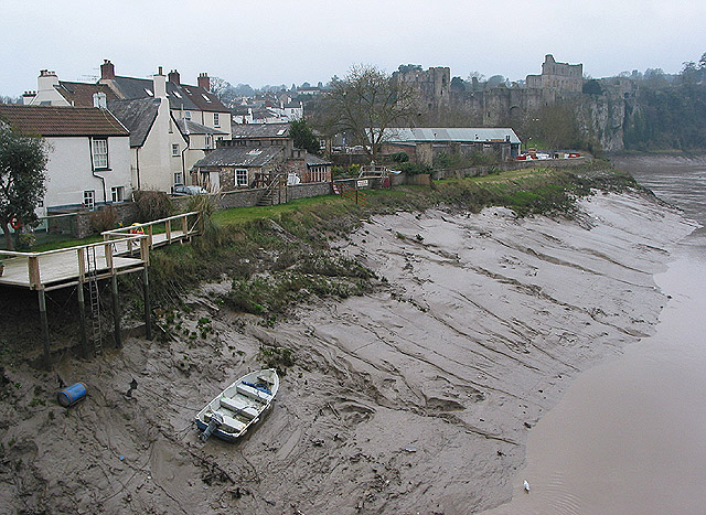 Tidal Wye at Chepstow