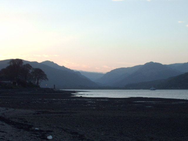 Sunset at Holy Loch