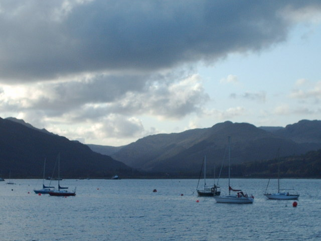 Boats on the Holy Loch