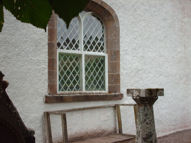 Window at Croick Church