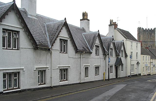 Montague Almshouses, Upper Church Street, Chepstow