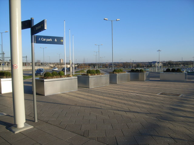 Ebbsfleet International Station - looking away