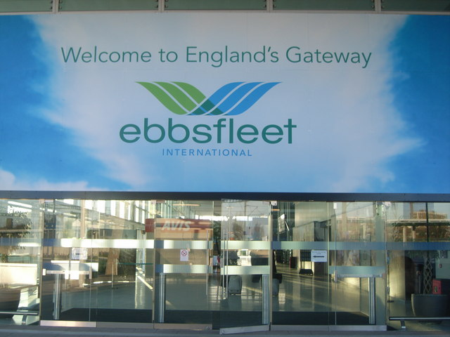 Ebbsfleet International Station - Entrance