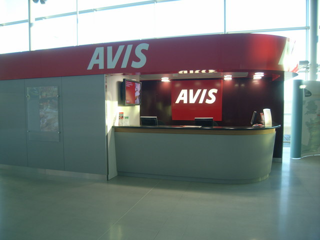 Ebbsfleet International Station - Avis kiosk