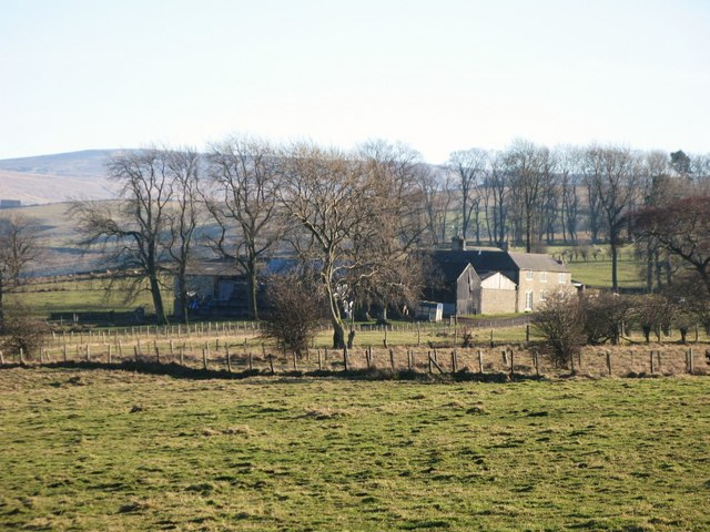 Pastures north of Dale House