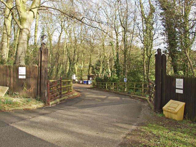 Raywell Park entrance
