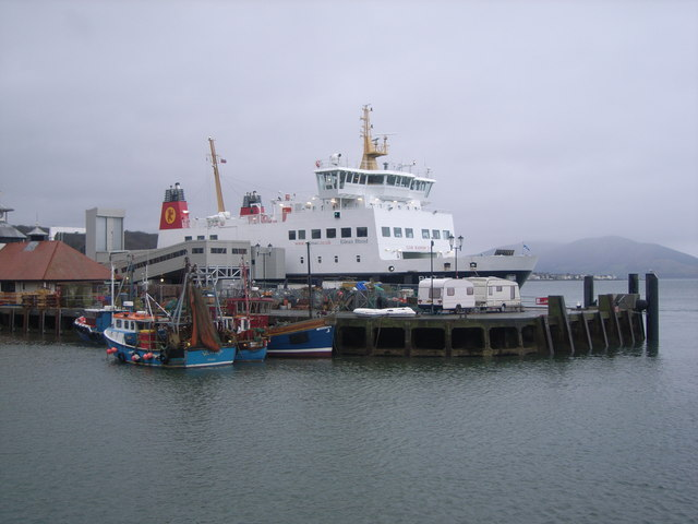 CalMac Ferry at Rothesay Harbour