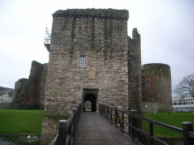 Rothesay Castle keep