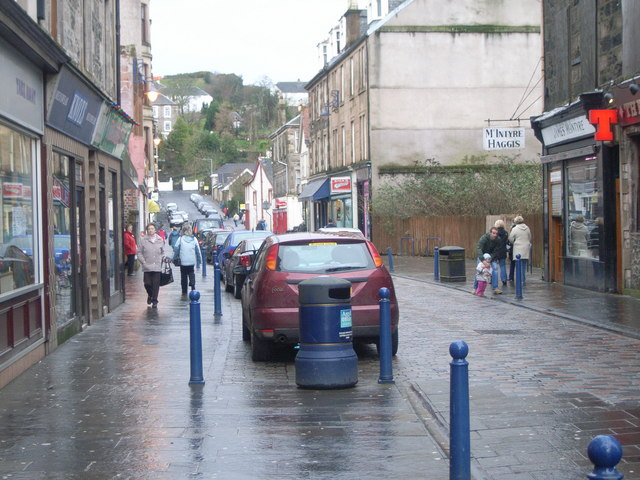 Rothesay town centre
