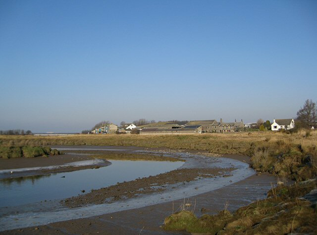 Low tide on the River Conder
