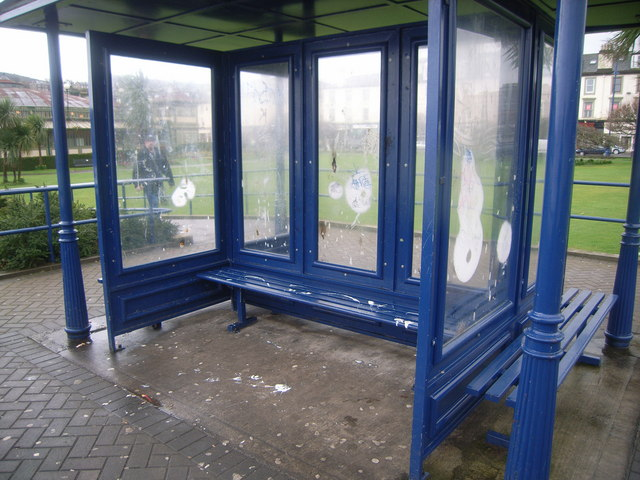 Bus stop near to Isle of Bute Discovery Centre