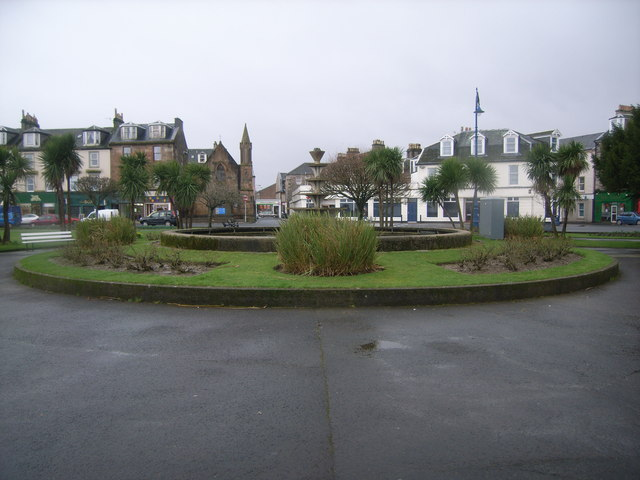 Looking towards the town centre, Rothesay
