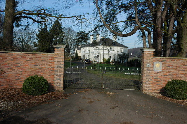 Gated entrance to Fernie