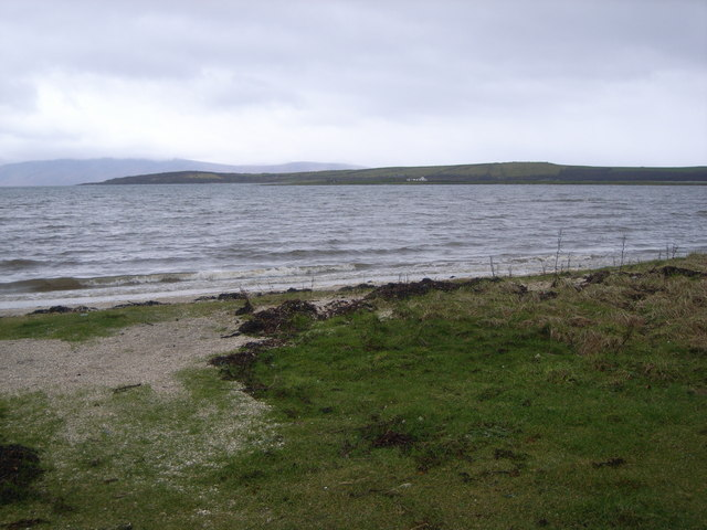 Looking across to St. Ninian's Point