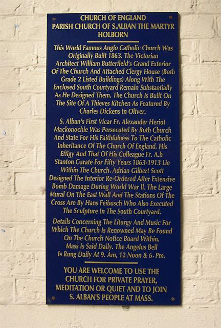 St Alban's Church, Holborn