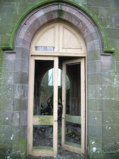 Abandoned Church - main door