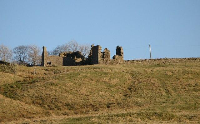 Ruin above Hesleywell