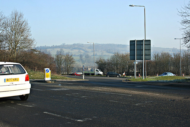 2008 : Roundabout at Newton St. Loe