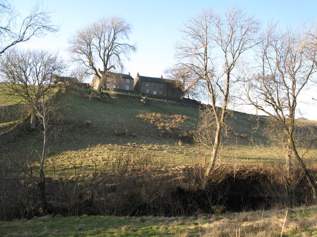 Pastures below Nether House