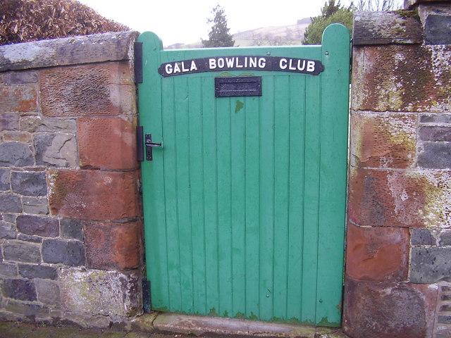 Gala Bowling Club, Galashiels.