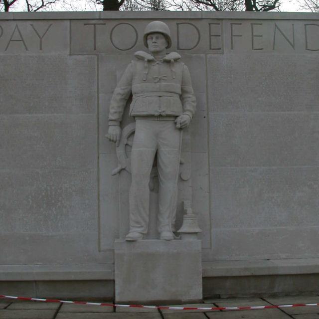 US Forces Memorial Statue (4) - The Coastguard