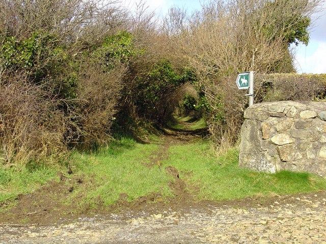 Bridleway near Spittal
