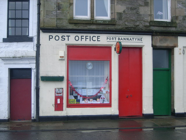 Port Bannatyne Post Office