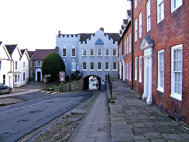 Broad Gate, looking south