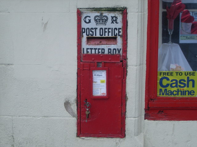 Port Bannatyne Post Office postbox