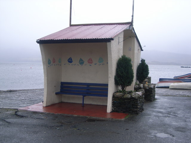 Port Bannatyne bus shelter