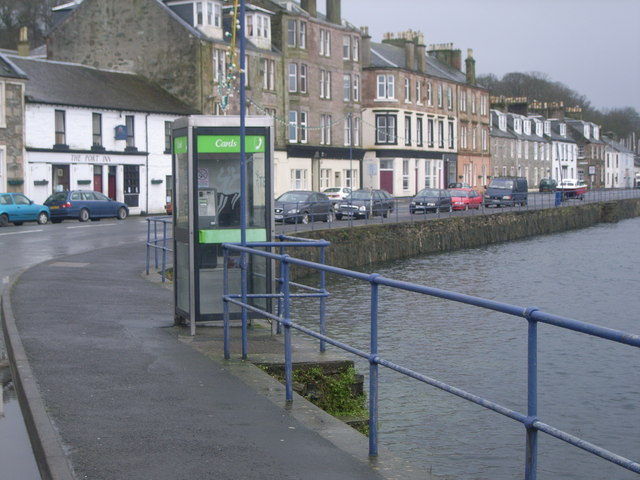 Port Bannatyne telephone box