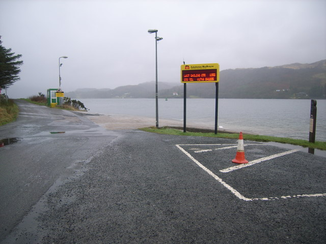 Colintraive ferry crossing