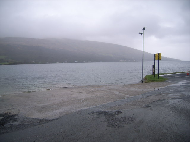 Colintraive ferry crossing - slipway