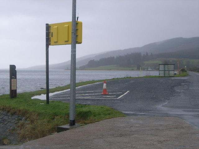Colintraive ferry crossing - waiting area