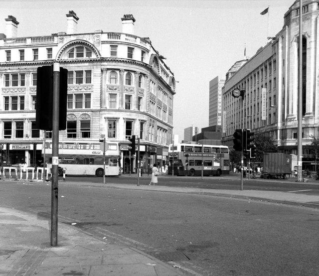 Manchester, Market Street/High Street junction