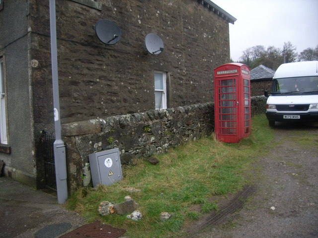 Colintraive telephone box