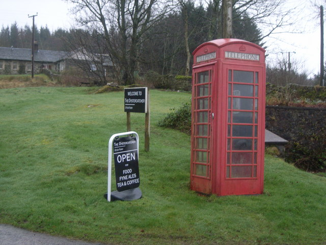 Otter Ferry telephone kiosk