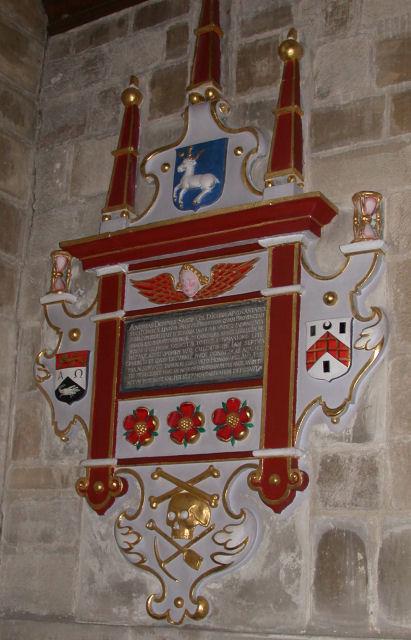 Andrew Downes Memorial, St Peter's Church