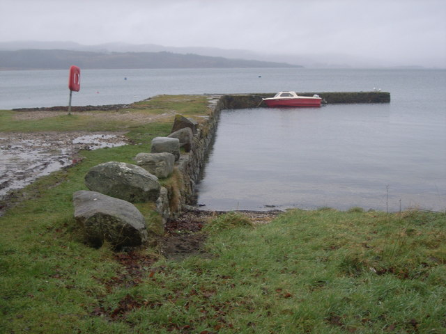 Otter Ferry - the quay