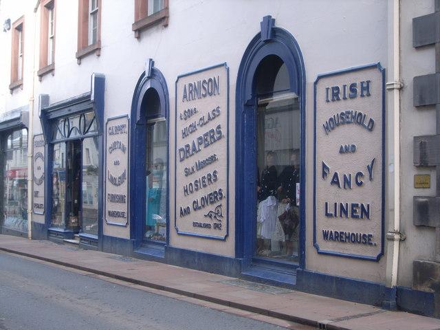 Arnison Drapers, Devonshire Street, Penrith